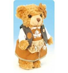 Ursa com traje tradicional